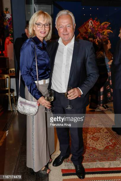Annette MarberthKubicki and Wolfgang Kubicki during the Bild 100 summer party on September 9 2019 in Berlin Germany
