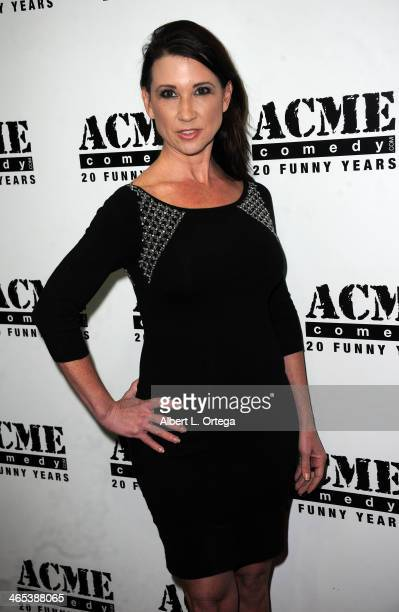 Annette Marie Westwood arrives for Inside The Scientology Celebrity Centre An ExParishoner Reveals All held at the ACME Comedy Theatre on January 26...