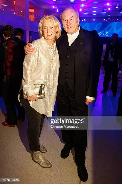 Annette Mattausch and Dietrich Mattausch attend the 17th Media Award By Kindernothilfe on November 13 2015 in Berlin Germany