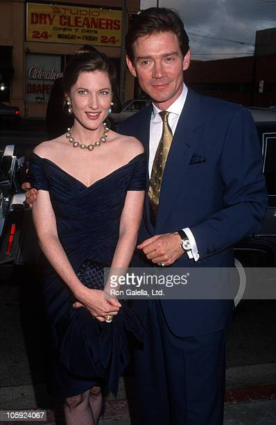 """Annette O'Toole and Anthony Andrews during Party For Danielle Steele's """"Jewels"""" - July 10, 1992 at Le'Orangerie in West Hollywood, California, United..."""
