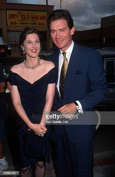 Annette O'Toole and Anthony Andrews during Party For Danielle Steele's 'Jewels' July 10 1992 at Le'Orangerie in West Hollywood California United...