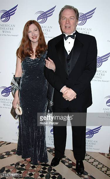 Annette O'Toole and husband Michael McKean during American Theatre Wing Spring Gala Honoring Matthew Broderick and Nathan Lane April 10 2006 at...