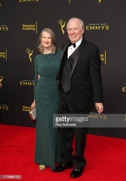 Annette O'Toole and Michael McKean attend the 2019 Creative Arts Emmy Awards on September 15, 2019 in Los Angeles, California.