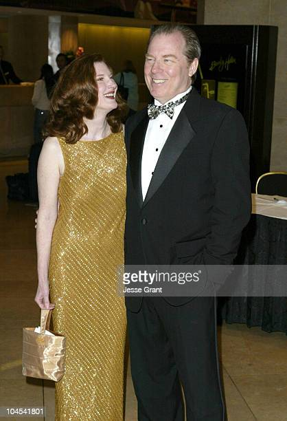 Annette O'Toole and Michael McKean during 8th Annual Art Directors Guild Awards Arrivals at Beverly Hilton Hotel in Beverly Hills California United...