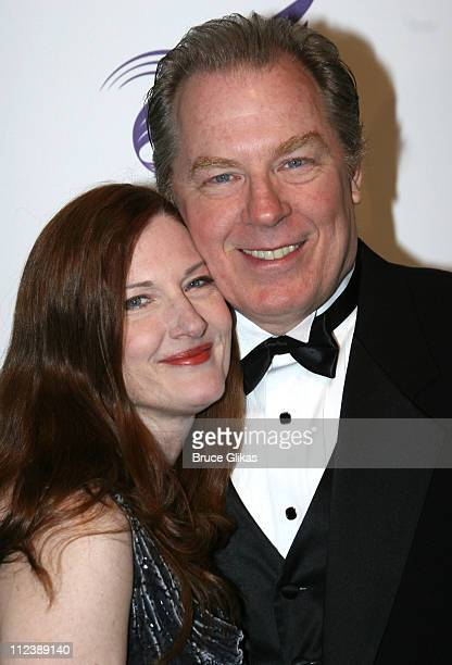 Annette O'Toole and Michael McKean during American Theatre Wing Annual Spring Gala April 10 2006 at Cipriani's 42nd street in New York City New York...