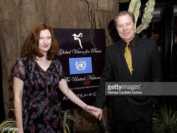 Annette O'Toole and Michael McKean during Global Vision for Peace and The United Nations Launch Artists for The United Nations at Lloyd Wright Sowden...