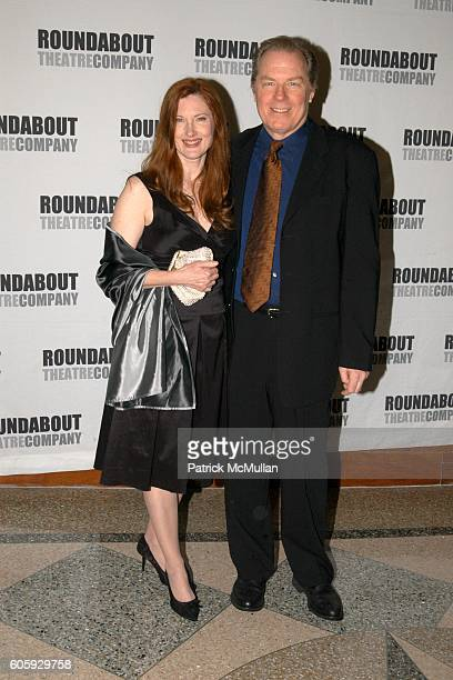 Annette O'Toole and Micheal McKean attend Roundabout Theatre Company's Spring Gala 2006 at Pier 60 on April 3, 2006 in New York City.
