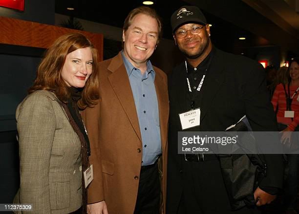 Annette O'Toole, Michael McKean and Jimmy Jam during Hollywood Reporter Film and TV Music Conference - Day 2 at Renaissance Hollywood Hotel in...