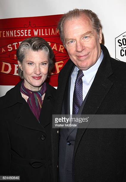Annette O'Toole & Michael McKean attending the Broadway Opening Night Performance of 'A Streetcar Named Desire' at the Broadhurst Theatre on...