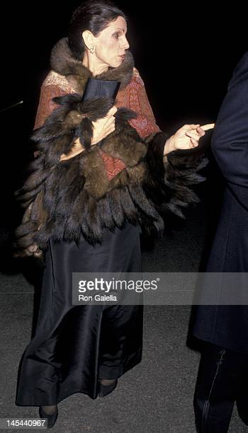 Annette Reed attends Sid BassMercedes Kellogg Wedding Reception on December 9 1988 at the Metropolitan Museum of Art in New York City