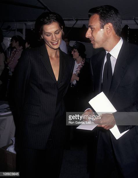 Annette Roque and Matt Lauer during 3rd Great Party to Save the Nature Conservancy Benefit at Central Park in New York City New York United States