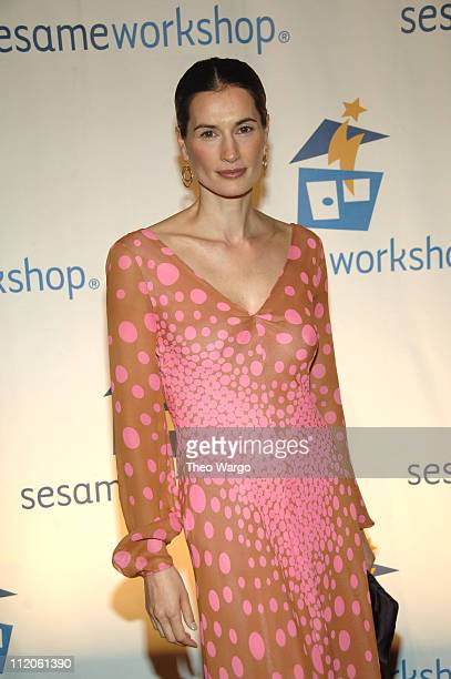 Annette Roque during Matt Lauer and Elmo Host Sesame Workshop's 4th Annual Benefit Gala at Cipriani in New York City New York United States