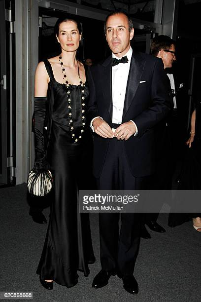 Annette Roque Lauer and Matt Lauer attend AMERICAN BALLET THEATRE 68th Annual Spring Gala at Metropolitan Opera House on May 19 2008 in New York City