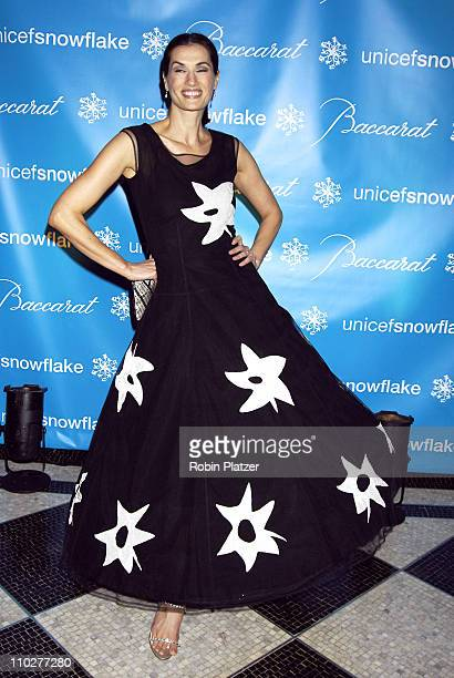 Annette Roque Lauer during 2nd Annual UNICEF Snowflake Ball Arrivals at The Waldorf Astoria Hotel in New York City New York United States
