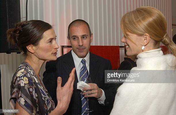 Annette Roque Lauer Matt Lauer and Blaine Trump during Escada and InStyle Host Benefit for the US Fund for UNICEF at ESCADA Fifth Avenue in New York...