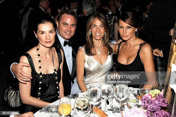 Annette Roque Lauer Peter Lyden Caryn Zucker and Melania Trump attend AMERICAN BALLET THEATRE 68th Annual Spring Gala at Metropolitan Opera House on...
