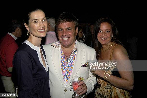 Annette Roque Lauer Richard Lefkowitz and Karyn Rubin attend Rosanna Scotto's Birthday at Southampton on June 20 2008 in Southampton New York
