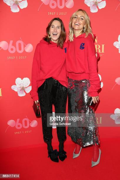 Annette Weber and Viktoria Rader during the Mon Cheri Barbara Tag at Postpalast on November 30 2017 in Munich Germany