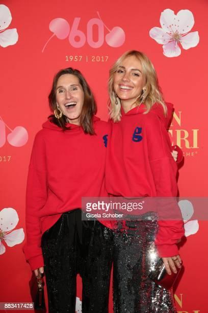Annette Weber and Viktoria Rader during the Mon Cheri Barbara Tag at Postpalast on November 30 2017 in Munich Germany