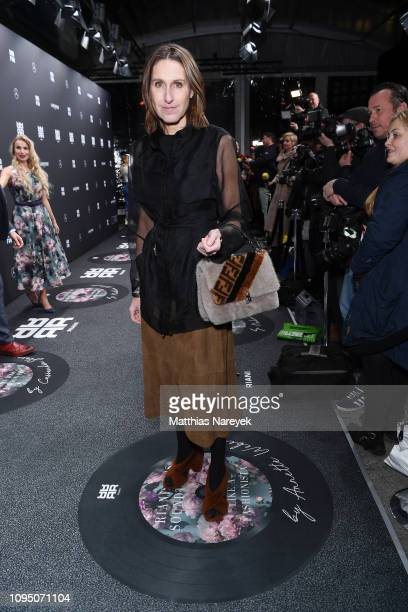 Annette Weber attends the Riani show during the Berlin Fashion Week Autumn/Winter 2019 at ewerk on January 16 2019 in Berlin Germany