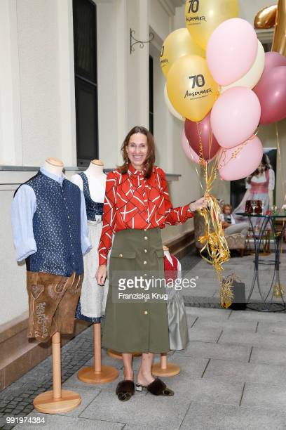 Annette Weber during the Cathy Hummels by Angermaier collection presentation at Titanic Hotel on July 5 2018 in Berlin Germany