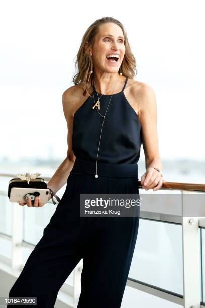 Annette Weber during the FASHION2NIGHT event on board the EUROPA 2 on August 17 2018 in Hamburg Germany