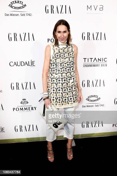 Annette Weber during the Grazia Fashion Dinner 2019 at Titanic Hotel on January 16 2019 in Berlin Germany
