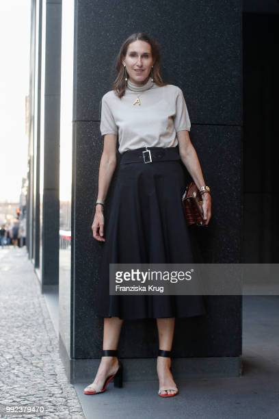 Annette Weber during the Strenesse exclusive dinner at Borchardt Restaurant on July 5 2018 in Berlin Germany