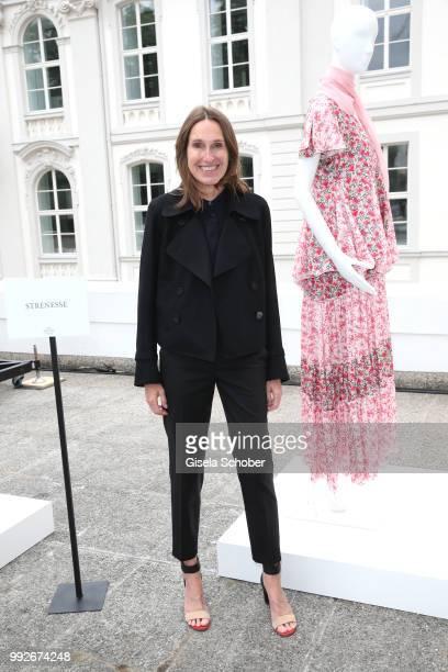 Annette Weber during the Strenesse presentation as part of Der Berliner Salon Spring/Summer 2019 at Kronprinzenpalais on July 6 2018 in Berlin Germany