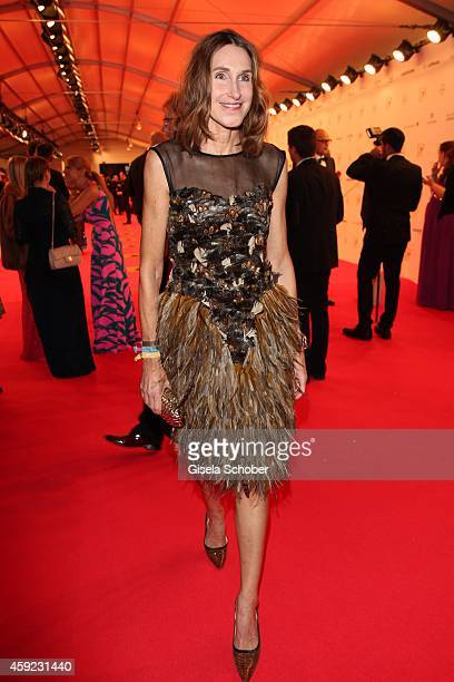 Annette Weber editor in chief Instyle arrives at the Bambi Awards 2014 on November 13 2014 in Berlin Germany