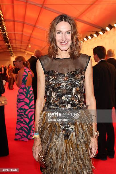 Annette Weber editor in chief of InStyle arrives at the Bambi Awards 2014 on November 13 2014 in Berlin Germany