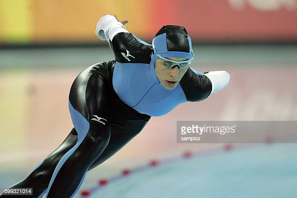 Anni Annie Friesinger gewinnnt Bronze ber 1000 Meter olympische Winterspiele in Turin 2006 olympic winter games in torino 2006
