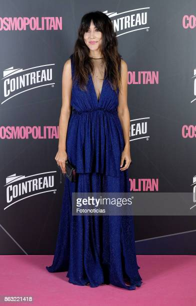 Anni b Sweet attends the 2017 Cosmpolitan Awards at the Graf club on October 19 2017 in Madrid Spain