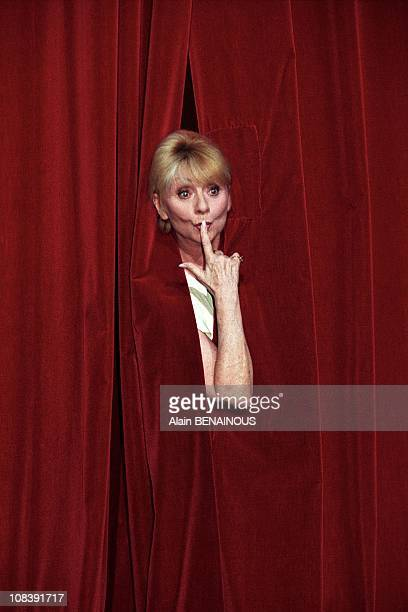 Anni Cordy Celebrates 50 years of career At Olympia in Paris France on August 28 1998