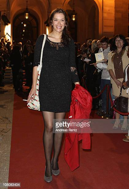 Anni Fromm attends the 'Hesse Movie Award 2010' at the Alte Oper on October 8 2010 in Frankfurt am Main Germany