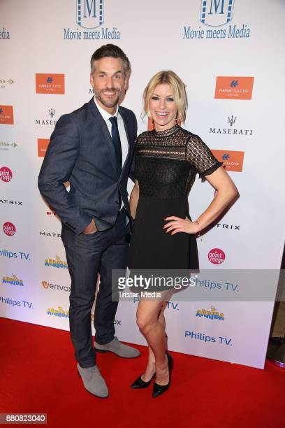 Annica Hansen and guest attend the Movie Meets Media event 2017 at Hotel Atlantic Kempinski on November 27 2017 in Hamburg Germany