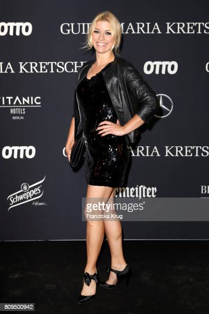 Annica Hansen attends the Guido Maria Kretschmer Fashion Show Autumn/Winter 2017 presented by OTTO at Tempodrom on July 5 2017 in Berlin Germany