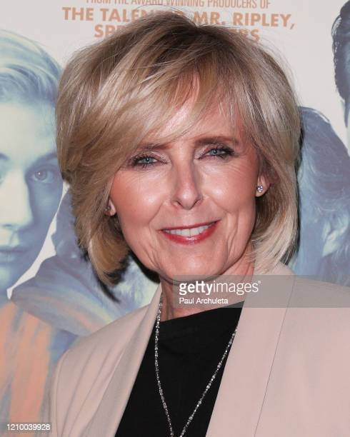 """Annica Liljeblad attends the LA special screening of Sony's """"The Burnt Orange Heresy"""" at Linwood Dunn Theater on March 02, 2020 in Los Angeles,..."""