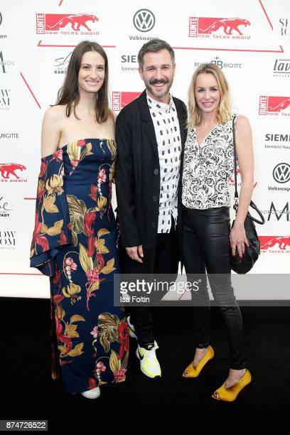 Annick Delfin German presenter Jochen Schropp and German actress Simone Hanselmann attend the New Faces Award Style 2017 at The Grand on November 15...