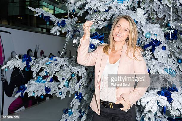 Annick Dumont attends the presentation of French TV France Television's staff members who will cover the 2014 Sochi Olympic Games on December 17 2013...