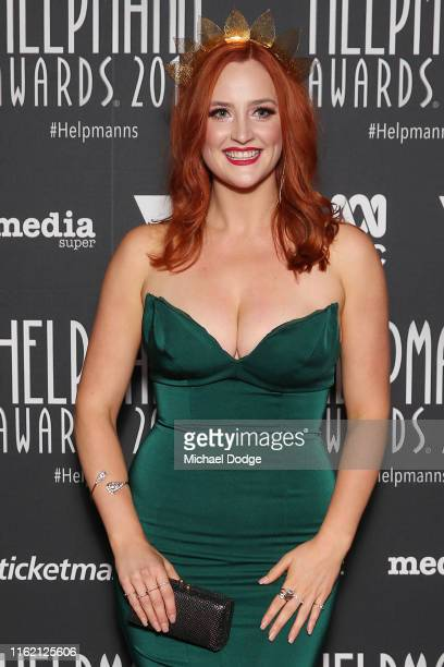 Annie Aitken attends the 19th Annual Helpmann Awards Act II at Arts Centre Melbourne on July 15 2019 in Melbourne Australia