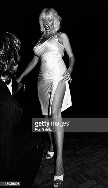 Annie Ample attends Models Night 1980 on October 28 1980 at Magique in New York City