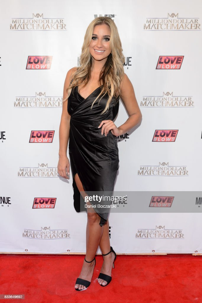 Annie Antonsen attends WE tv's LOVE BLOWS Premiere Event at Flamingo Rum Club on August 16, 2017 in Chicago, Illinois.