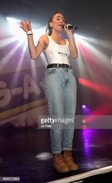 Annie Ashcroft of MOperforms at GAY on August 23 2014 in London England