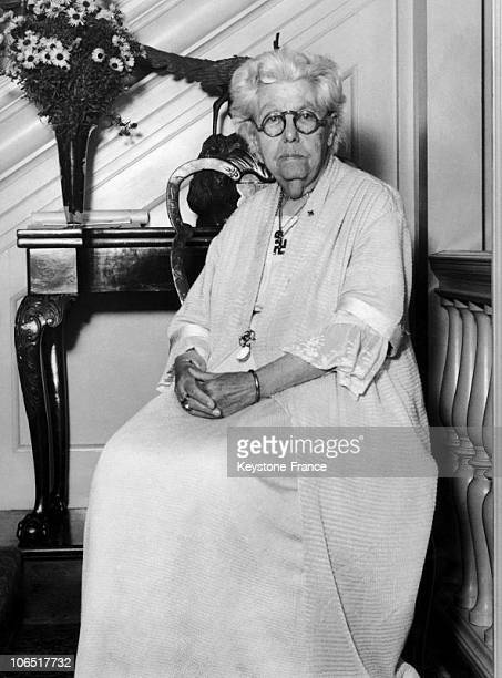Annie Besant British Theosophist In November 1931