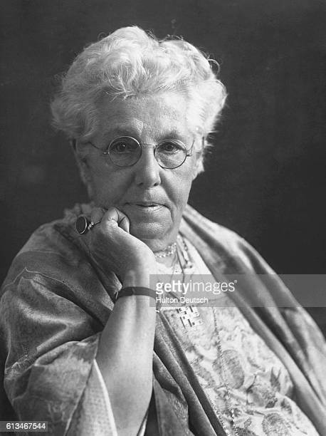 Annie Besant the English theosophist and reformer She rejected Christianity and advocated free thought and socialism