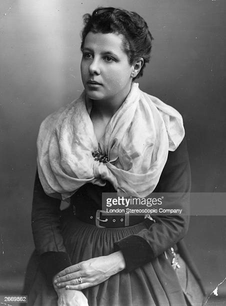 Annie Besant the English theosophist who was prominent in the Fabian Society and published a pamphlet on birth control for which she was brought to...