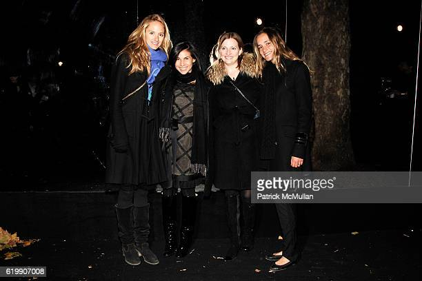 Annie Buck Arianne Gold Nancy Walsh and Nathalie Rumpf attend Opening Party for MOBILE ART CHANEL Contemporary Art Container in Central Park at...