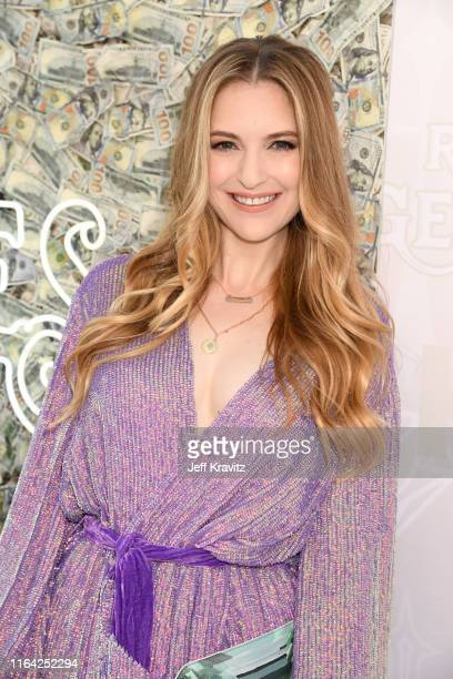 Annie Cavalero attends HBO's The Righteous Gemstones premiere at the Paramount Theatre on July 25 2019 in Los Angeles California
