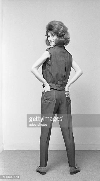 Annie Chancel called Sheila French singer born in Cr��teil In 1963